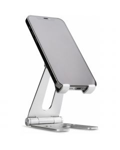 Xccess Foldable Desk Phone Holder Silver